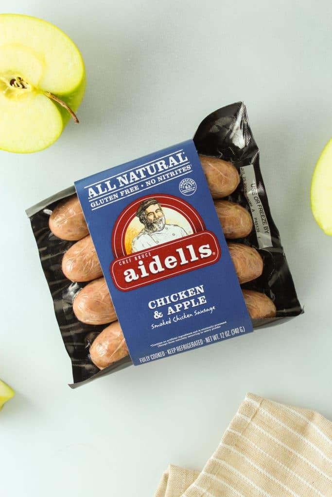 Chicken and Apple Breakfast Melts