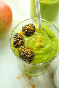 Mango Turmeric Green Smoothie