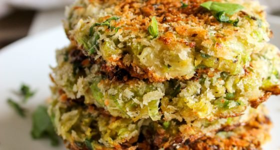 Brussels Sprout Fritters