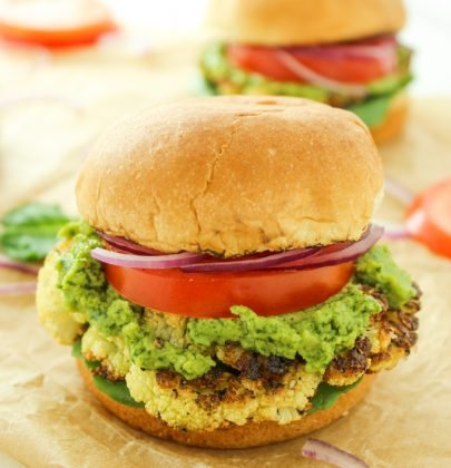 Cauliflower Steak Sliders