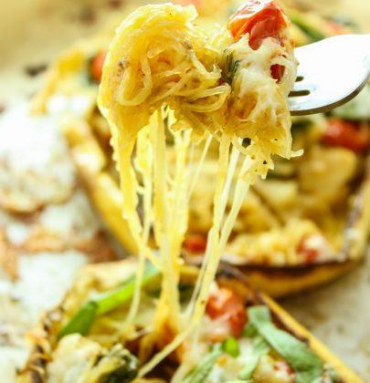 Twice Baked Italian Spaghetti Squash