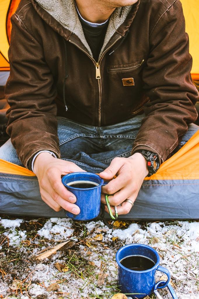 Camping Colorado Coffee Tent