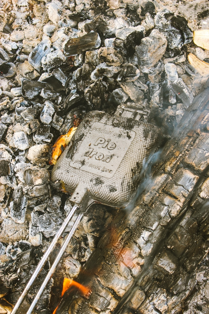 Campfire Coals Pie Iron