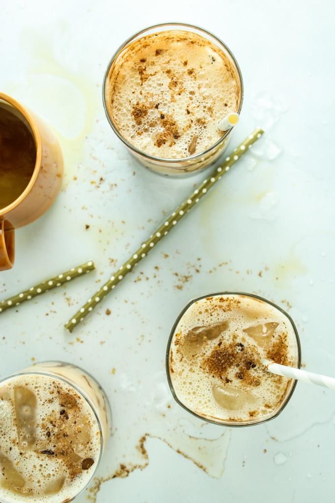 Iced Espresso Mudslides Straws