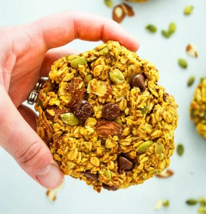Vegan Pumpkin Breakfast Cookies