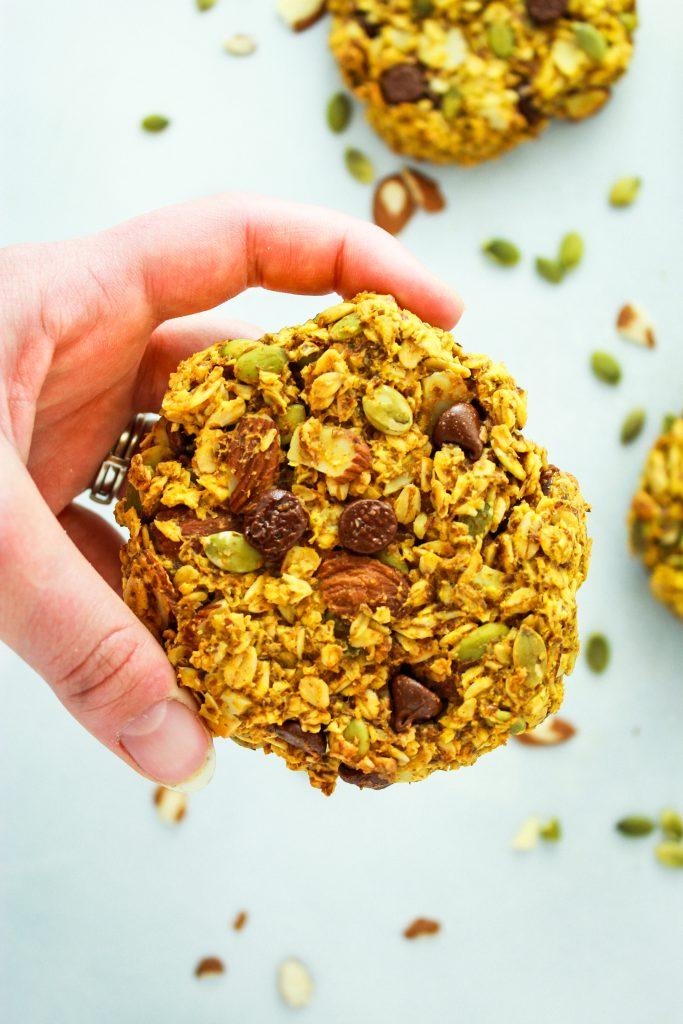 Vegan Pumpkin Breakfast Cookie