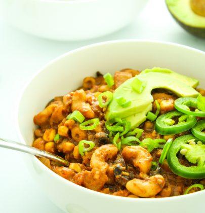 Crockpot Three Bean Vegan Chili