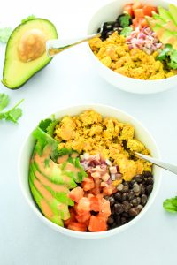 Southwest Tofu Breakfast Bowls – We LOVE these for weekday breakfasts. Prep the tofu ahead of time and reheat each morning. So EASY!
