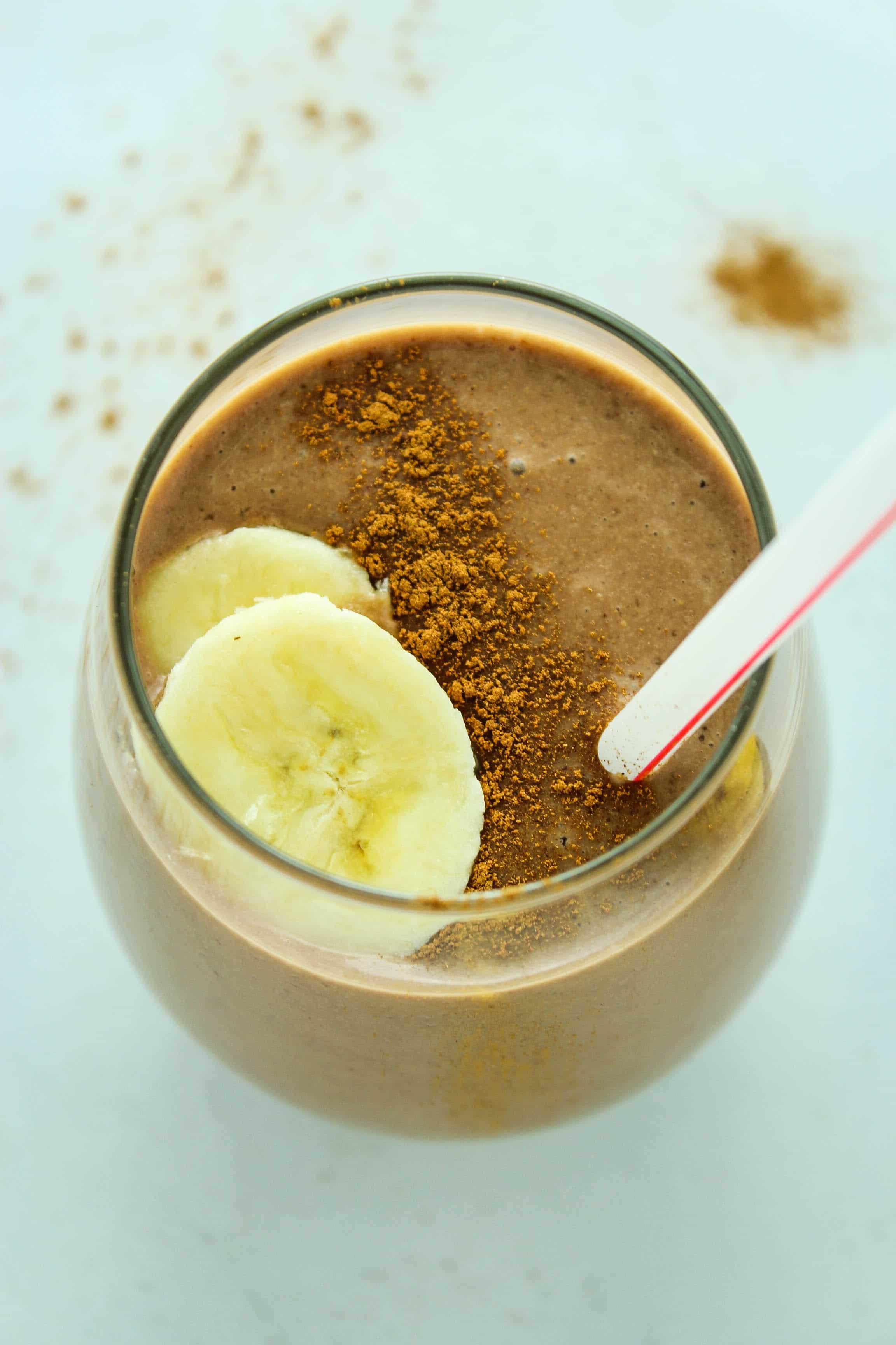 Chocolate Espresso Protein Smoothie