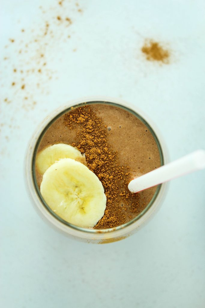 Chocolate Espresso Protein Smoothie – LOVE these smoothies in the morning! Easy to make and super filling.