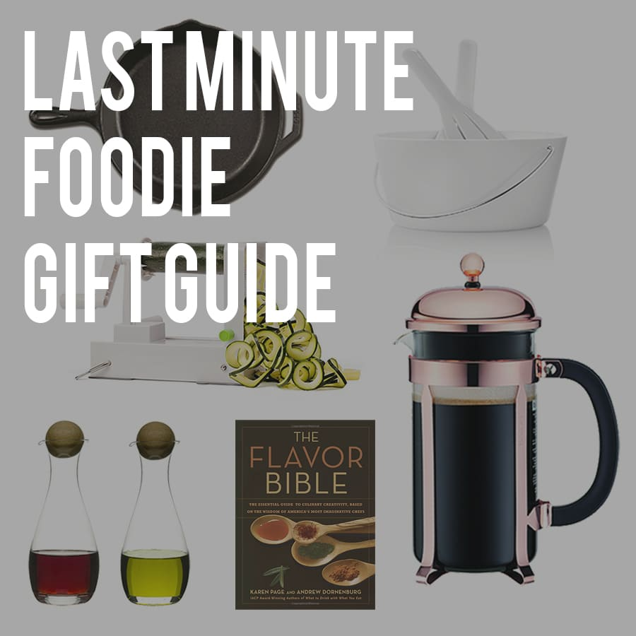 Last-Minute Gift Ideas for Foodies
