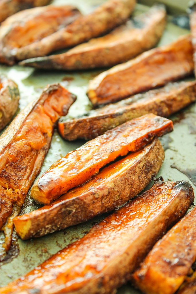 CINNAMON SUGAR SWEET POTATO FRIES – These are my new favorite ...