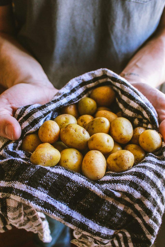 Potatoes Towel