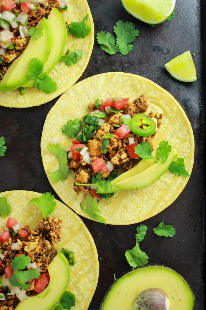 Spicy Vegan Sofritas – This copycat recipe for Chipotle's vegan sofritas is SO easy. We make it for taco night all the time!