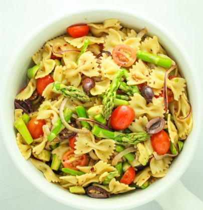 15 Minute Vegan Pasta Salad