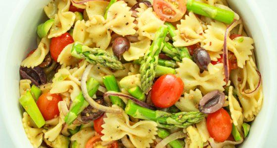 15 Minute Vegan Pasta Salad