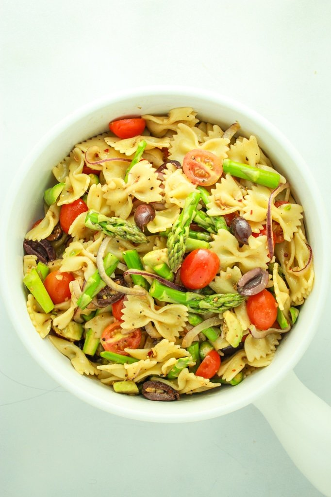 Pasta salad vegan