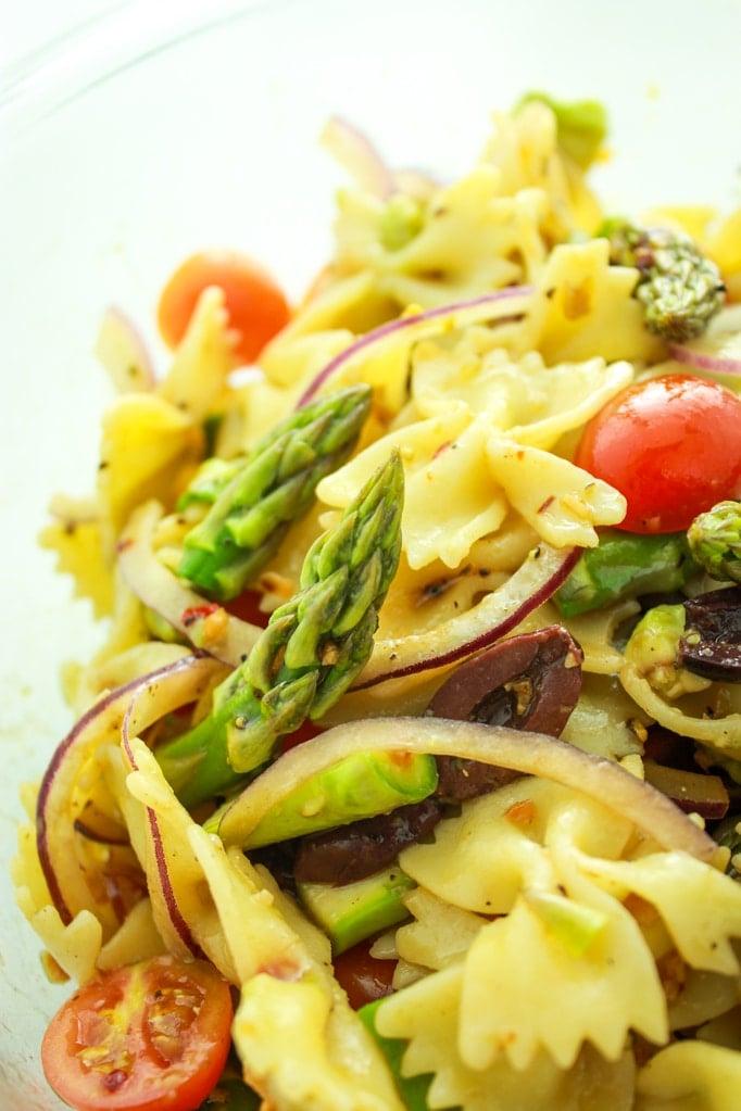 Vegan Pasta Close up