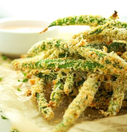 Easy Baked Green Bean Fries