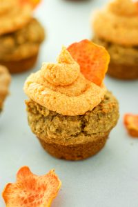 Peanut Butter Pupcakes – Cupcakes for DOGS! These are the cutest thing ever. I make them for our pup on her birthday and sometimes, just because! One bowl and so easy!