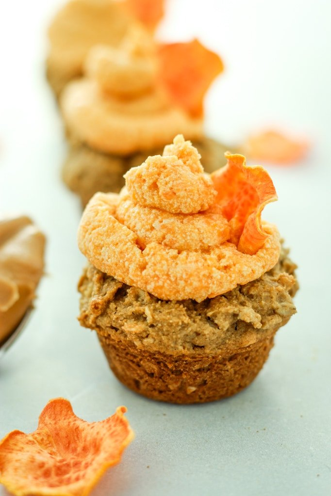 Peanut Butter Pupcakes Cupcakes for Dogs
