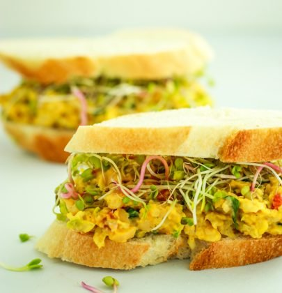 Vegan Chickpea Salad Sandwiches + Picnic Tips