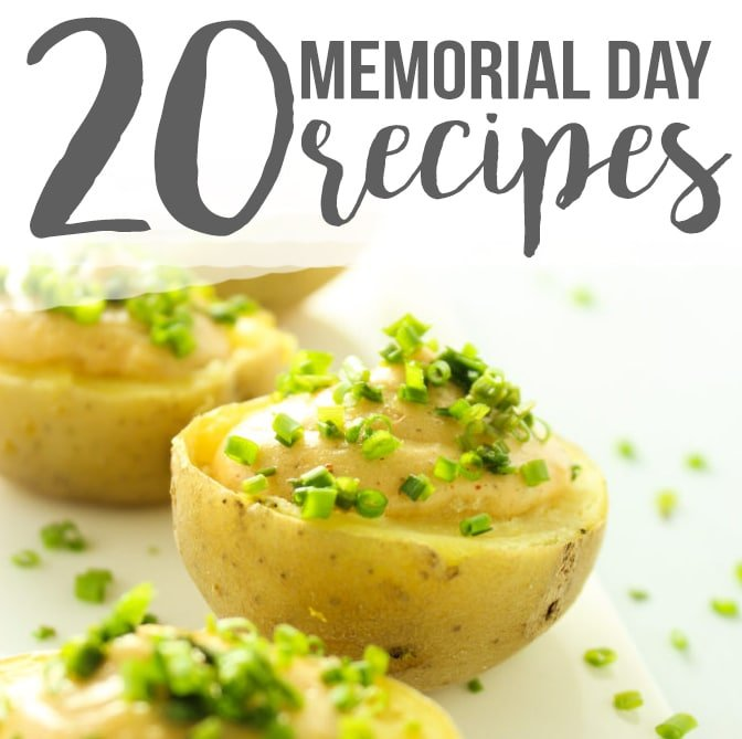 20 Memorial Day Weekend Recipes