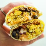 Freezer Friendly Breakfast Burritos – This recipe is a life saver. EASY to make and EASY to reheat for weekdays. So filling and yummy!