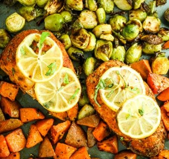 Blackened Chicken Sheet Pan Dinner