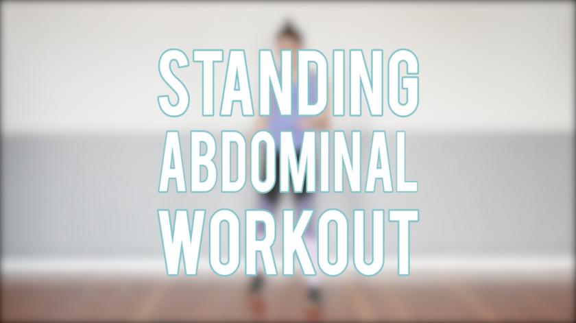 Standing Abdominal Workout