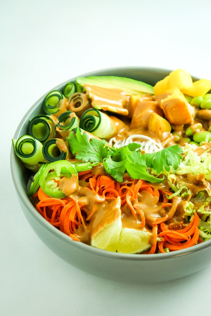 Summer Roll Bowls
