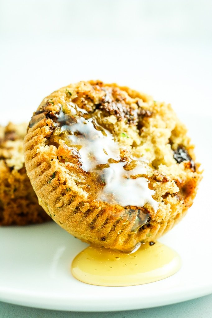 Chocolate Chip Zucchini Muffins Honey