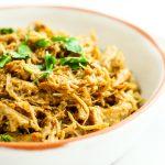 Easy Crockpot Thai Chicken