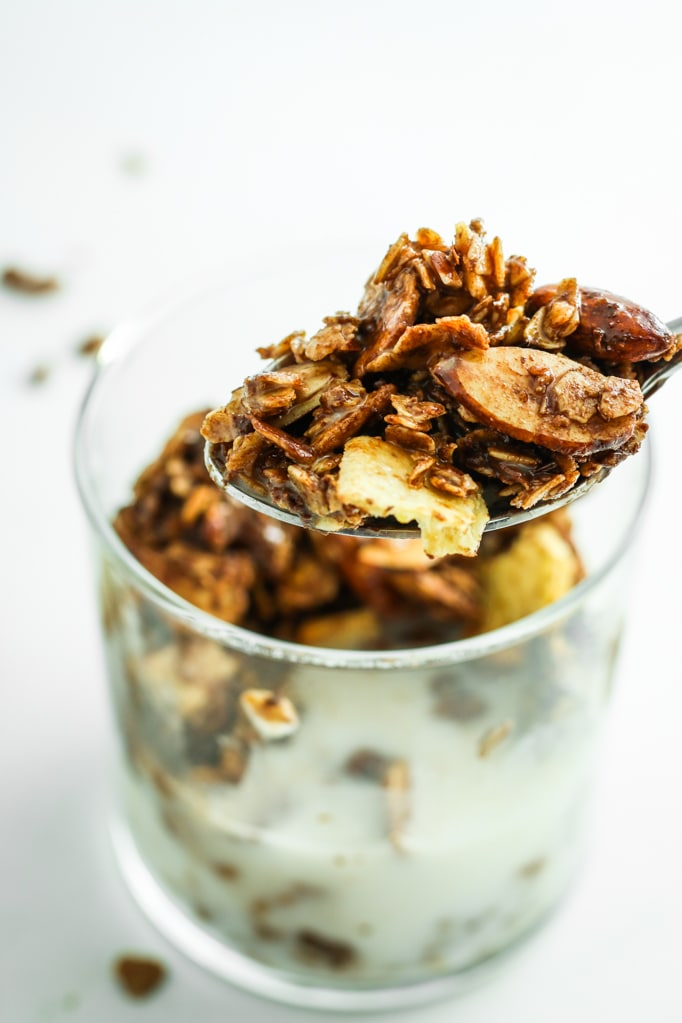 Sweet and Salty Granola