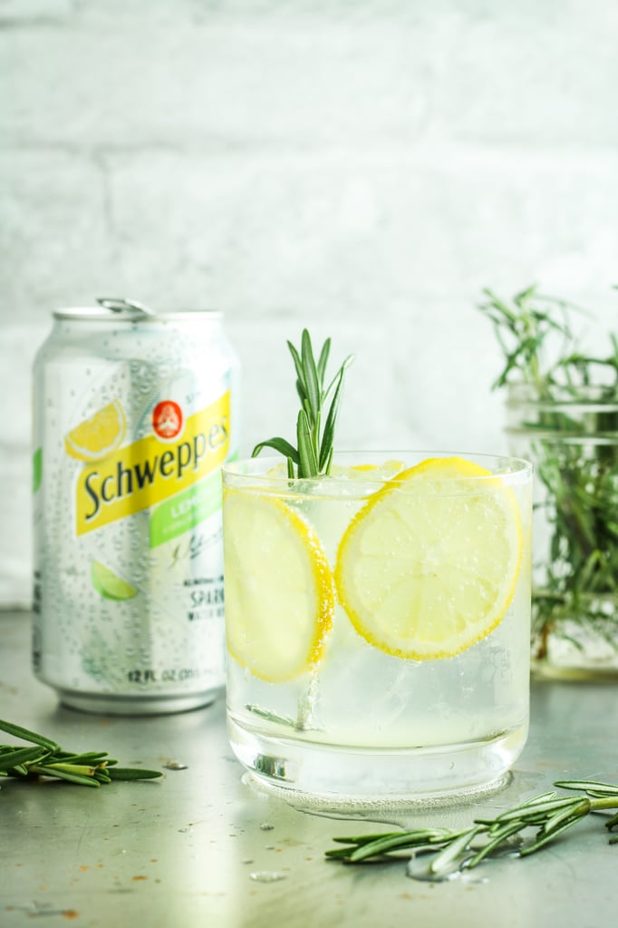 Lemon Lime Gin Spritzers