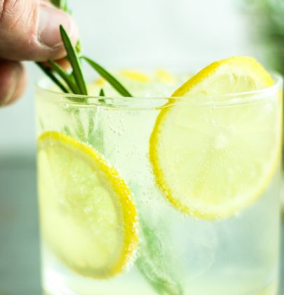 Rosemary Gin Spritzers