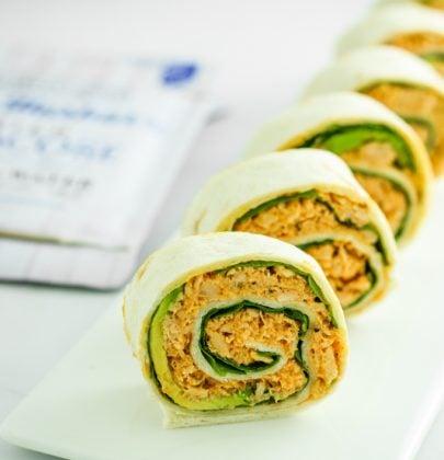 Spicy Tuna Pinwheels