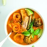 Sweet Potato Noodle Red Curry