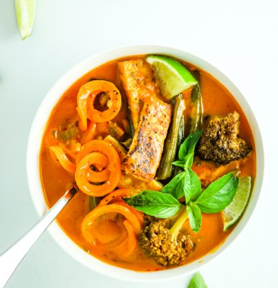 Sweet Potato Thai Red Curry