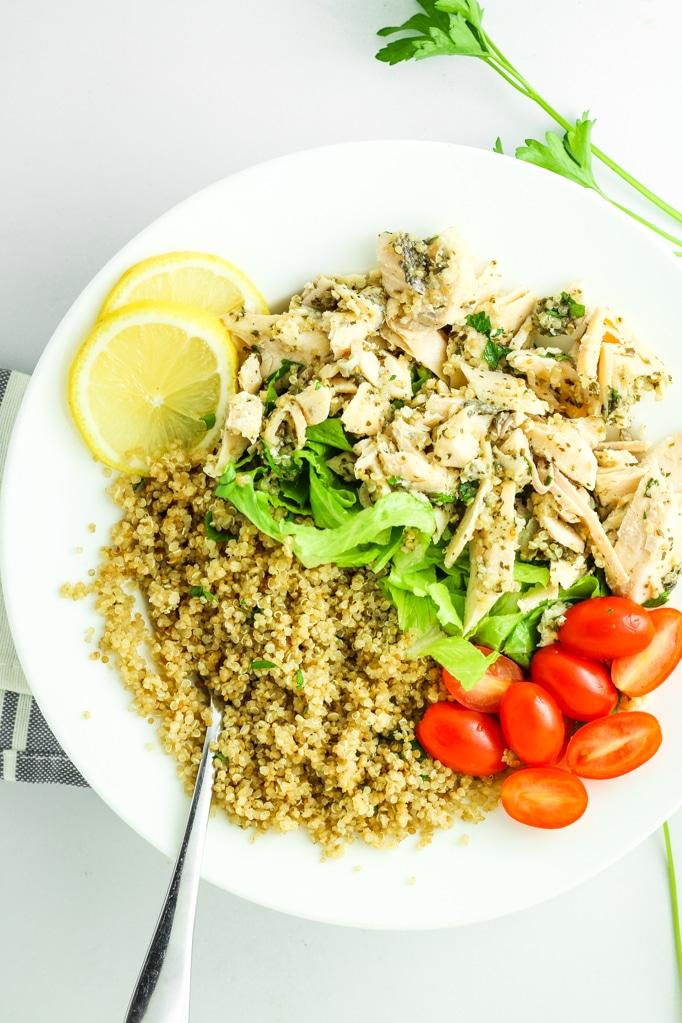 Rice Chicken Lemon Tomato
