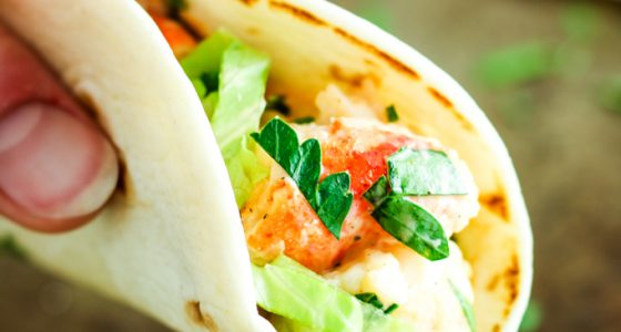 Lobster Roll Tacos