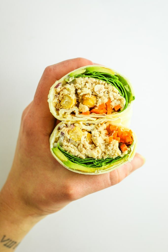 Avocado Tuna Wraps – BEST easy meal prep lunch. I love these veggie loaded wraps - I make them once a week and they're good for 3 meals.