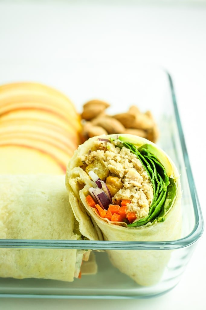 Avocado Tuna Wraps