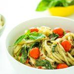 Creamy Pesto Potato Noodles