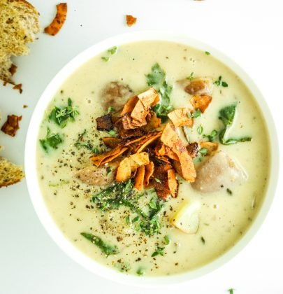 Dairy Free Potato Kale Soup