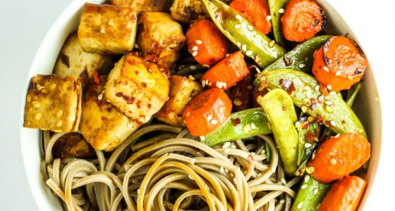 Sheet Pan Tofu Stir Fry
