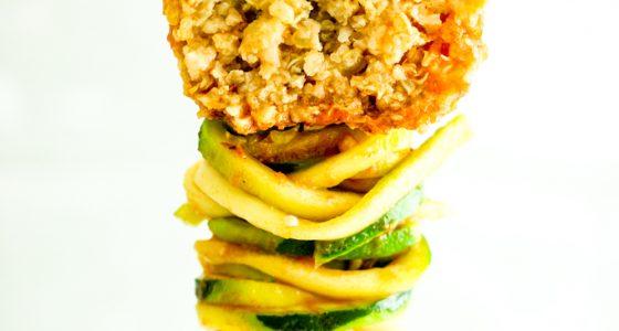Herbed Cauliflower Quinoa Meatballs