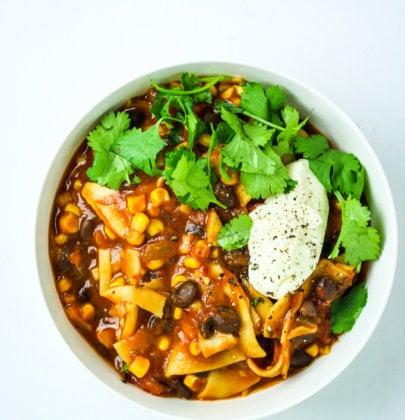15 Minute Instant Pot Vegan Chili