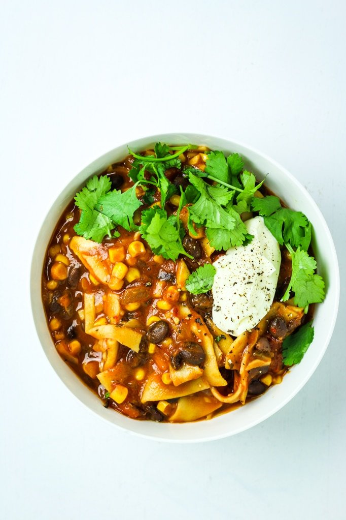 15 Minute Instant Pot Vegan Chili