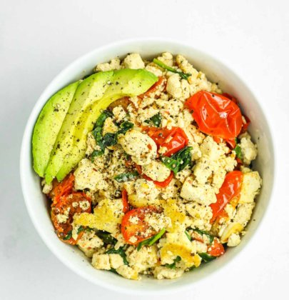 15 Minute Tofu Scramble